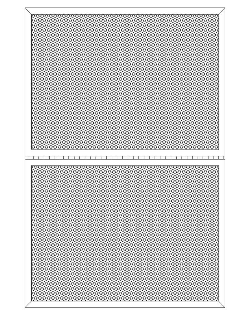 Model 800 Operable Security Screen