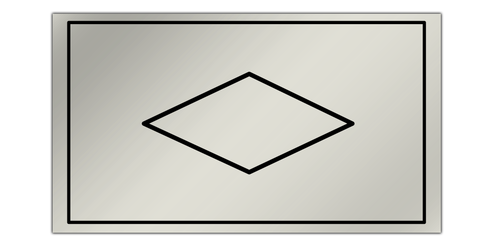 Single Diamond Kick-Panel