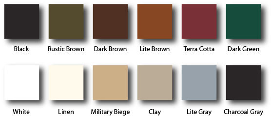 Lansing Housing Products Color Chart